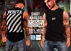[INSIGHT] Sleeveless t-shirt *KARLOS*