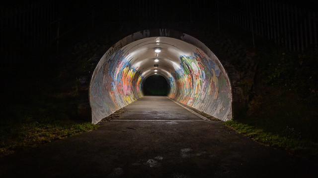 Graffiti tunnel... (In Explore #25)
