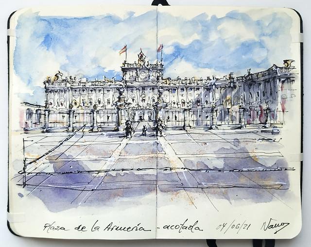 Plaza de la Armería, Madrid