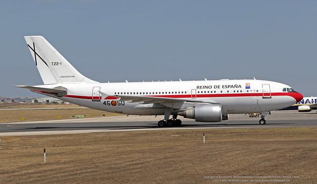 T.22-1 LMML 03-06-2021 Spain - Air Force Airbus A310-304 CN 550