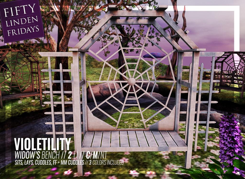 Violetility – Widow's Bench