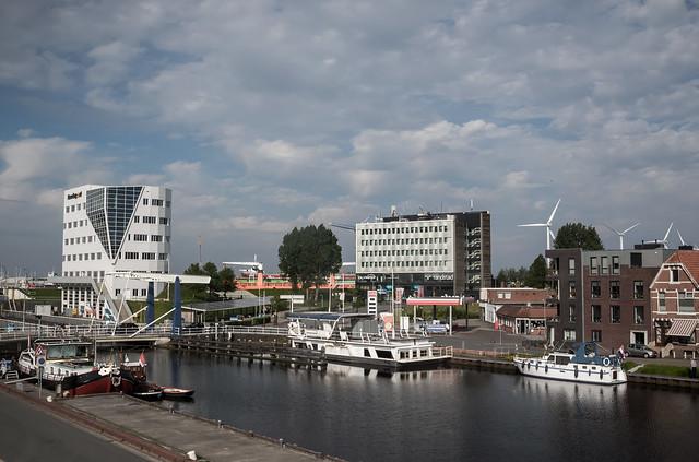 Het Dok on the Eemskanal, Delfzijl