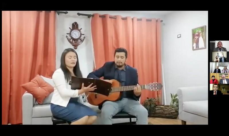 ENCUENTRO HERMANO OFICIALES Y ESPOSAS SECTOR 12