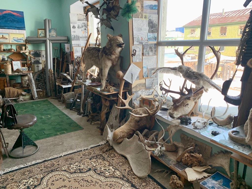 Музей Горностай в Тикси - самый интересный музей Якутии. IMG_7927