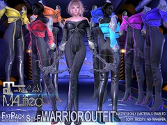 MALified - Sci-Fi Warrior Outfits - FatPack