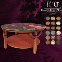 [Fetch] Elias Coffee Table @ Fifty Linden Friday!