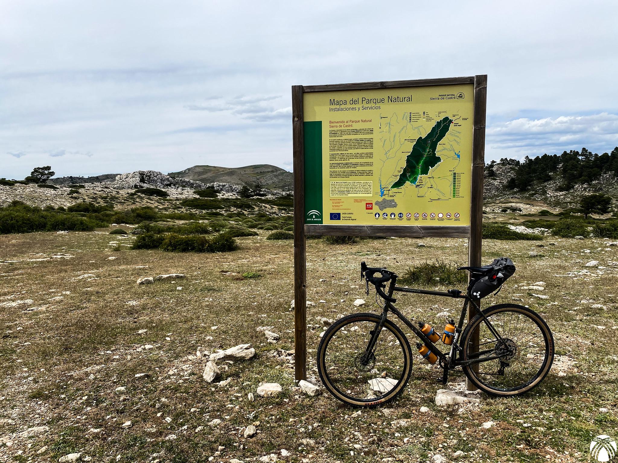 Ahora estamos en el Parque Natural de Castril