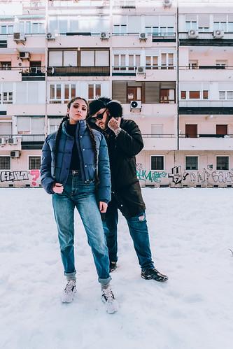 Shakira Martínez y Mocho Chavea