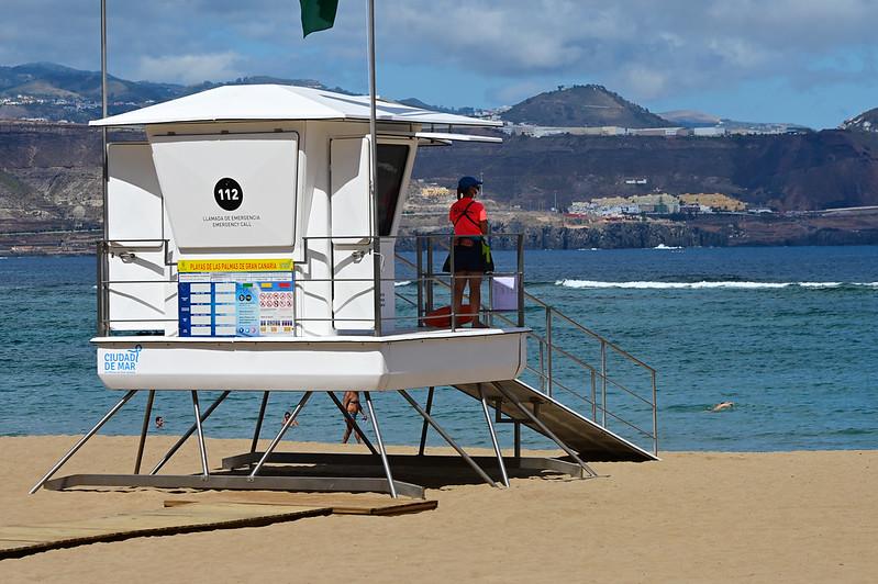 Torre de Vigilancia Playa Grande - Las Canteras