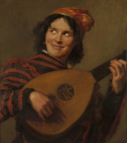 Frans Hals - De Luitspeler