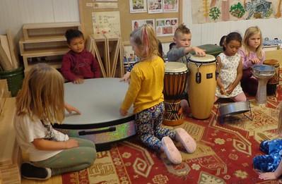 drum quietly