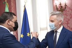 Il Ministro Guerini incontra il Primo Ministro libico Dabaiba