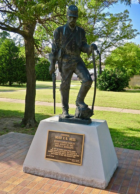 Noah Ness Statue, Ness City, KS