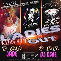 voodoo dance club ladies night out n7