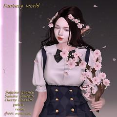 {Fantasy world} Sakura branch
