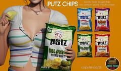 Junk Food - Putz Chips Ad