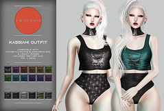 KiB Designs - Kassiani Outfit @Darkness Event 5th June