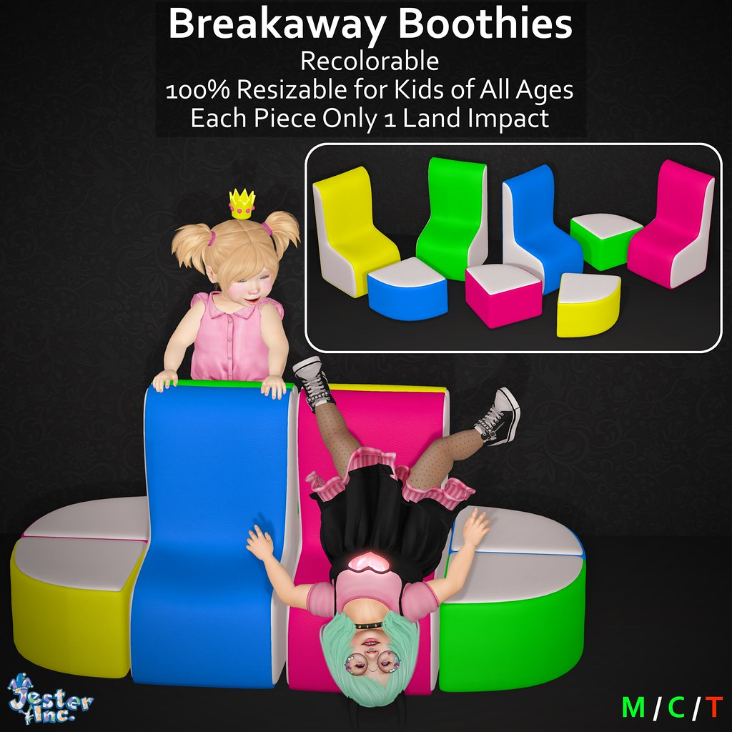 Presenting the new Breakaway Boothies from Jester Inc.