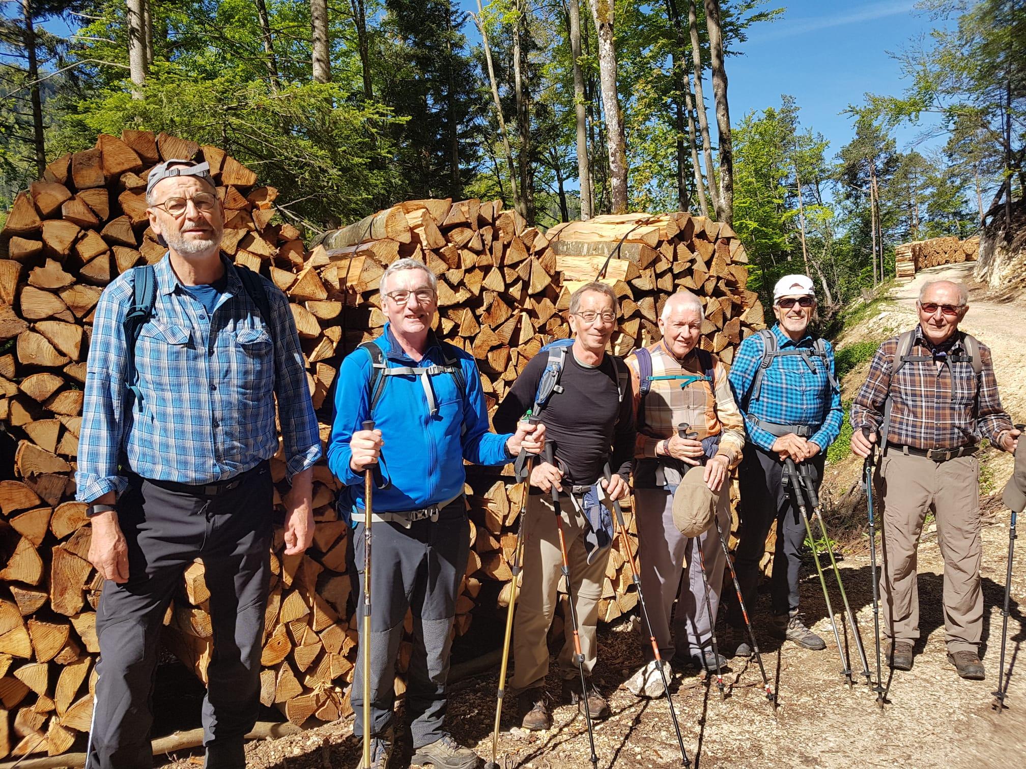 2021-05-28 Wanderung Les Faivres - alte Eibe - Franzosenloch