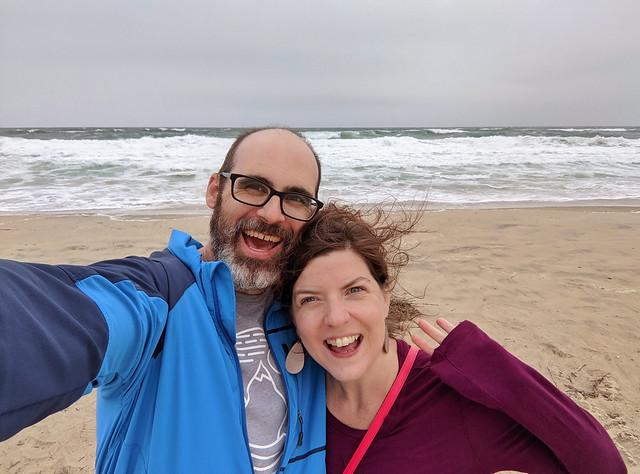 us @ Nag's Head beach