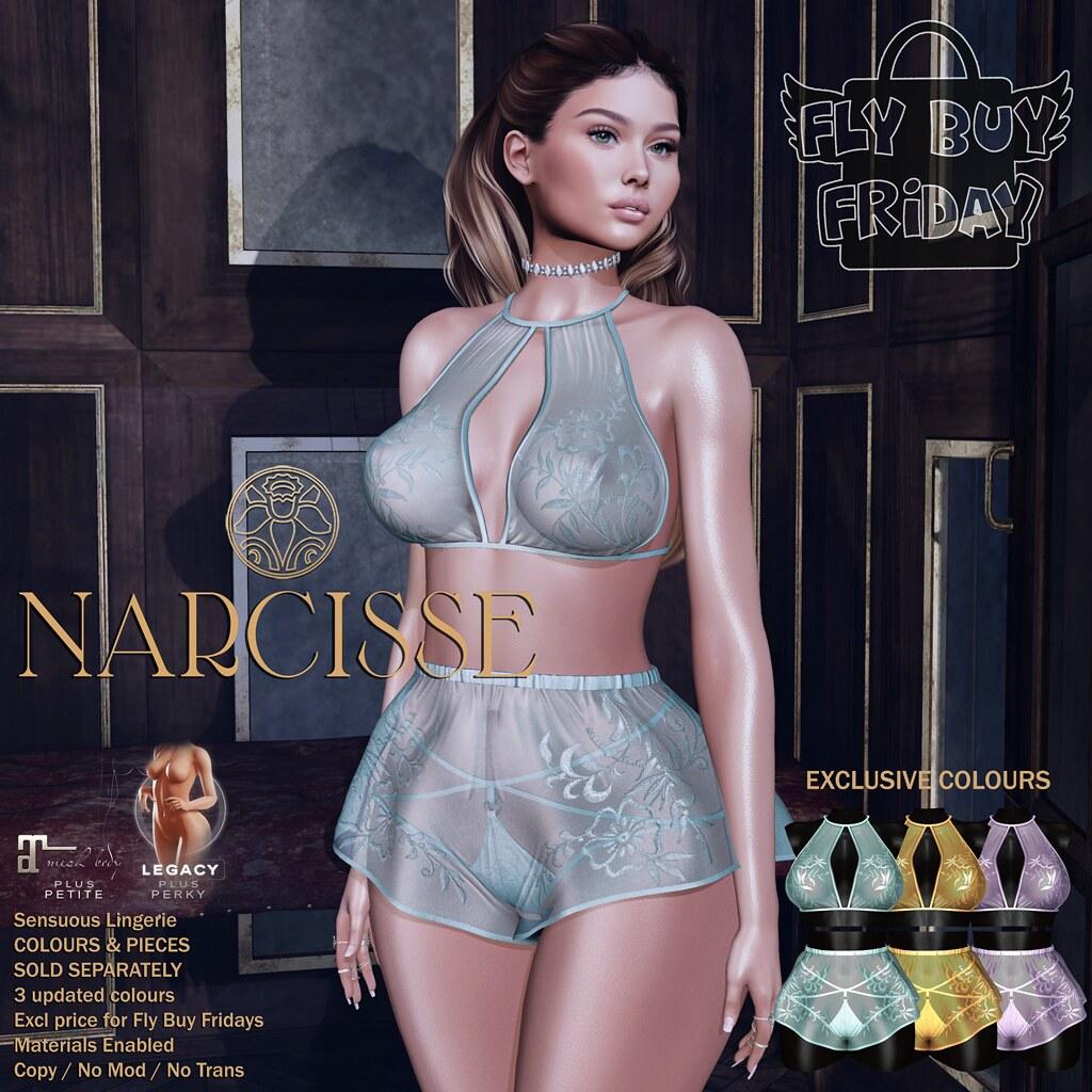 -Narcisse- Fly Buy Fridays June 4th