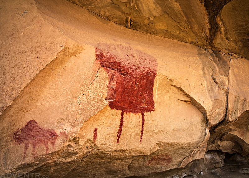 Big Red Pictograph