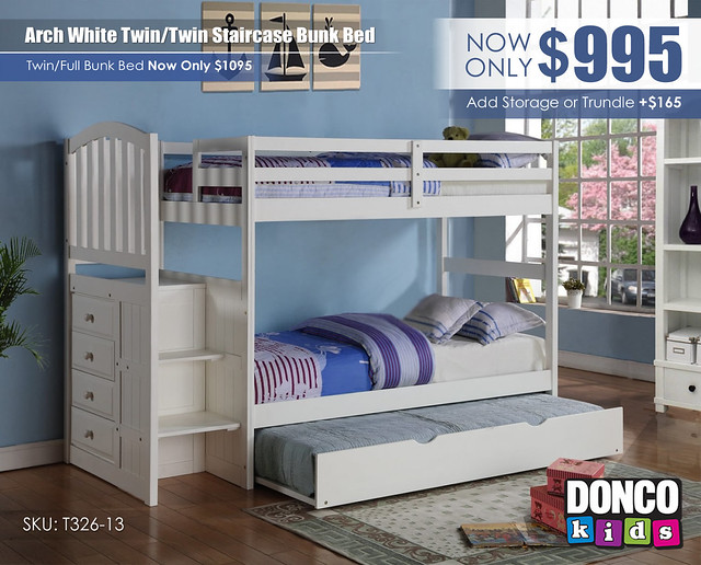Twin over Twin Arch Mission Stairway Bunkbed_840_Update