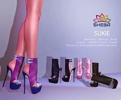 [Sheba] Sukie Heels