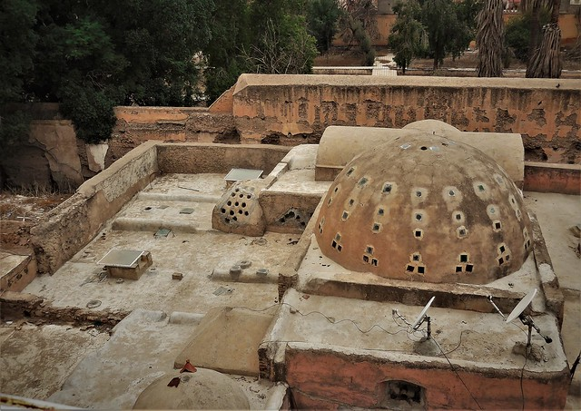 Moroccan rooftop