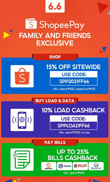 Shopee 6.6 codes