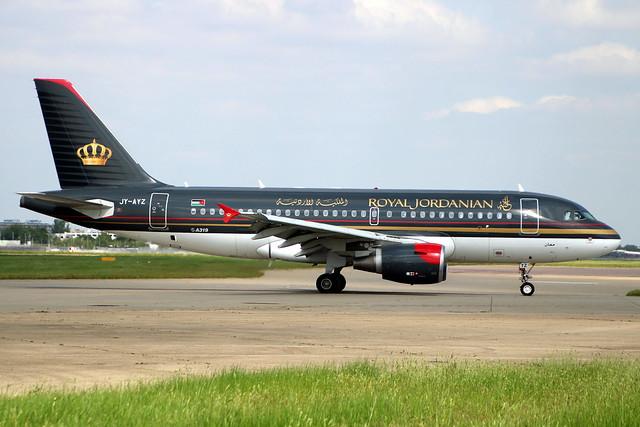 JY-AYZ A319 2497 LHR 3-Jun-21