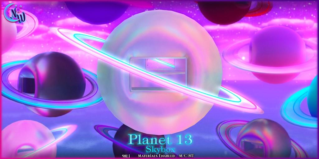 NeverWish Planet 13 Skybox