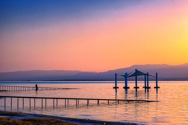 Dead sea calm