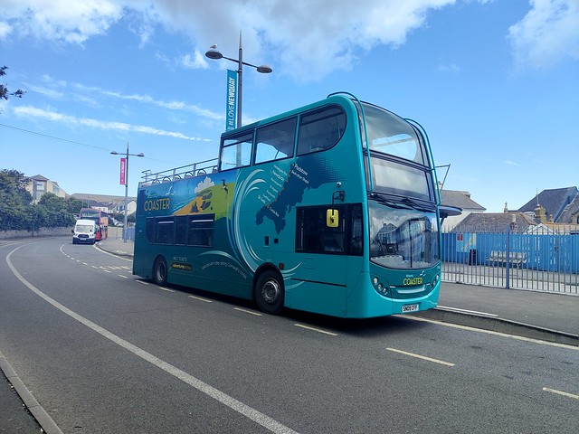 Cornwall by Kernow E400 33592 at Newquay Bus Station