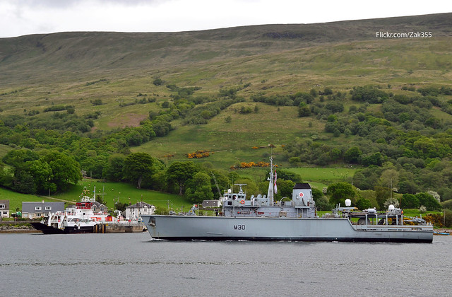 Loch Dunvegan & HMS Ledbury