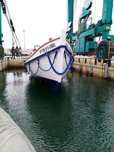 4 de juny, arribada al port de Segur Calafell