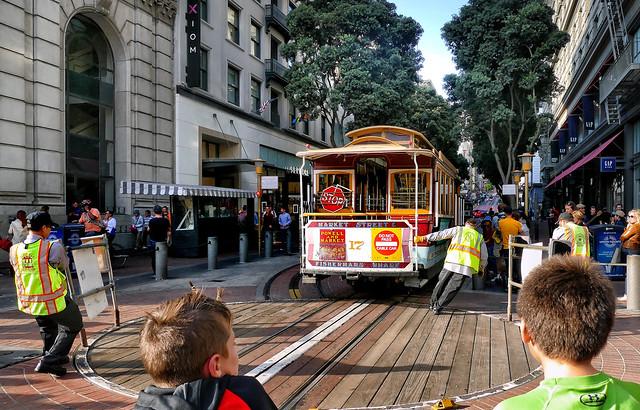 Powell St Trolley turnaround