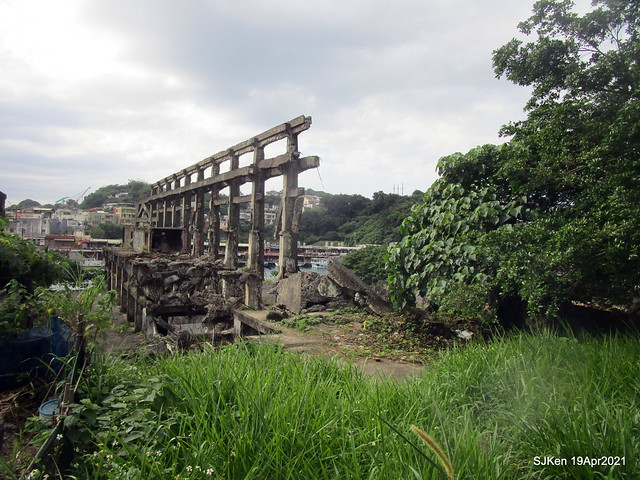 阿根廷造船廠歷史遺構廢墟」(Agentina Shipyard ruins), , Keelung, North Taiwan, Apr 19, 2021.