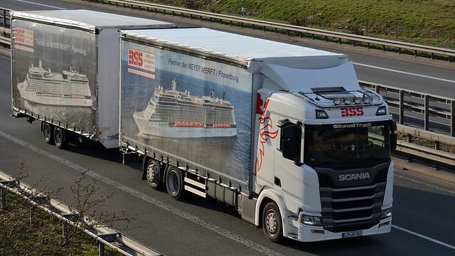 D - BSS >Partner der Meyer Werft< Scania NG R410