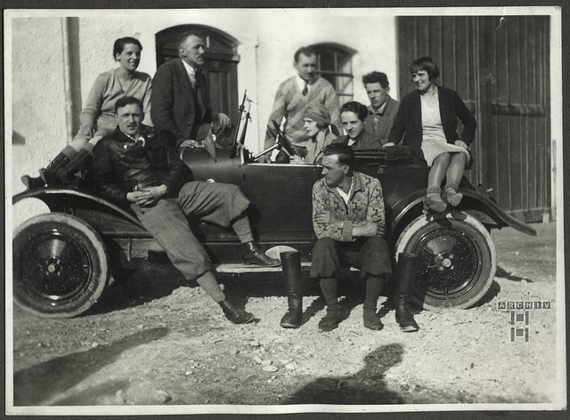 ArchivTappen24AAL4l56 Benno Bauer, Freunde, München, 1920er