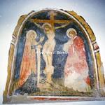 Corfinio (AQ), 2000, Duomo di Corfinio e Basilica Concattedrale di San Pelino. Affresco duecentesco.