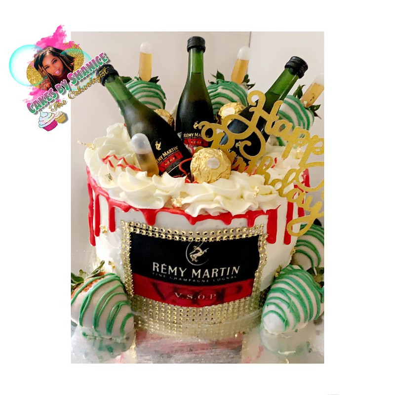 Remy Martin Cake from Cakes By Shanice