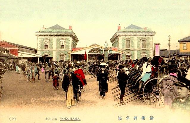 Yokohama, Railway Station ...