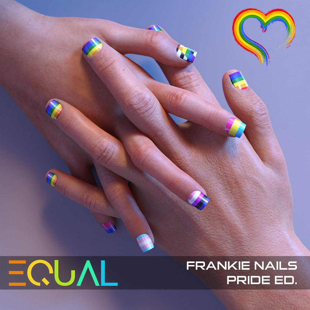 EQUAL – Frankie Nails Pride Ed.
