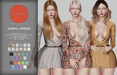 KiB Designs - Cosima Dress @Designer Showcase 5th June