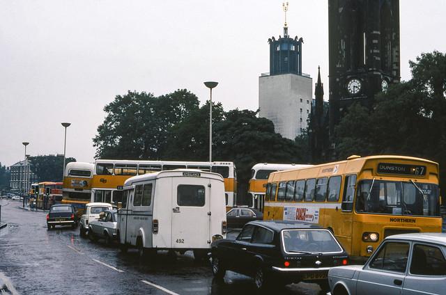 Newcastle street scene, c.1978 [slide 7867]