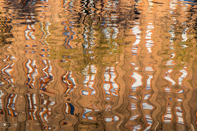 Armchair Traveling - Reflections on an Amsterdam Canal