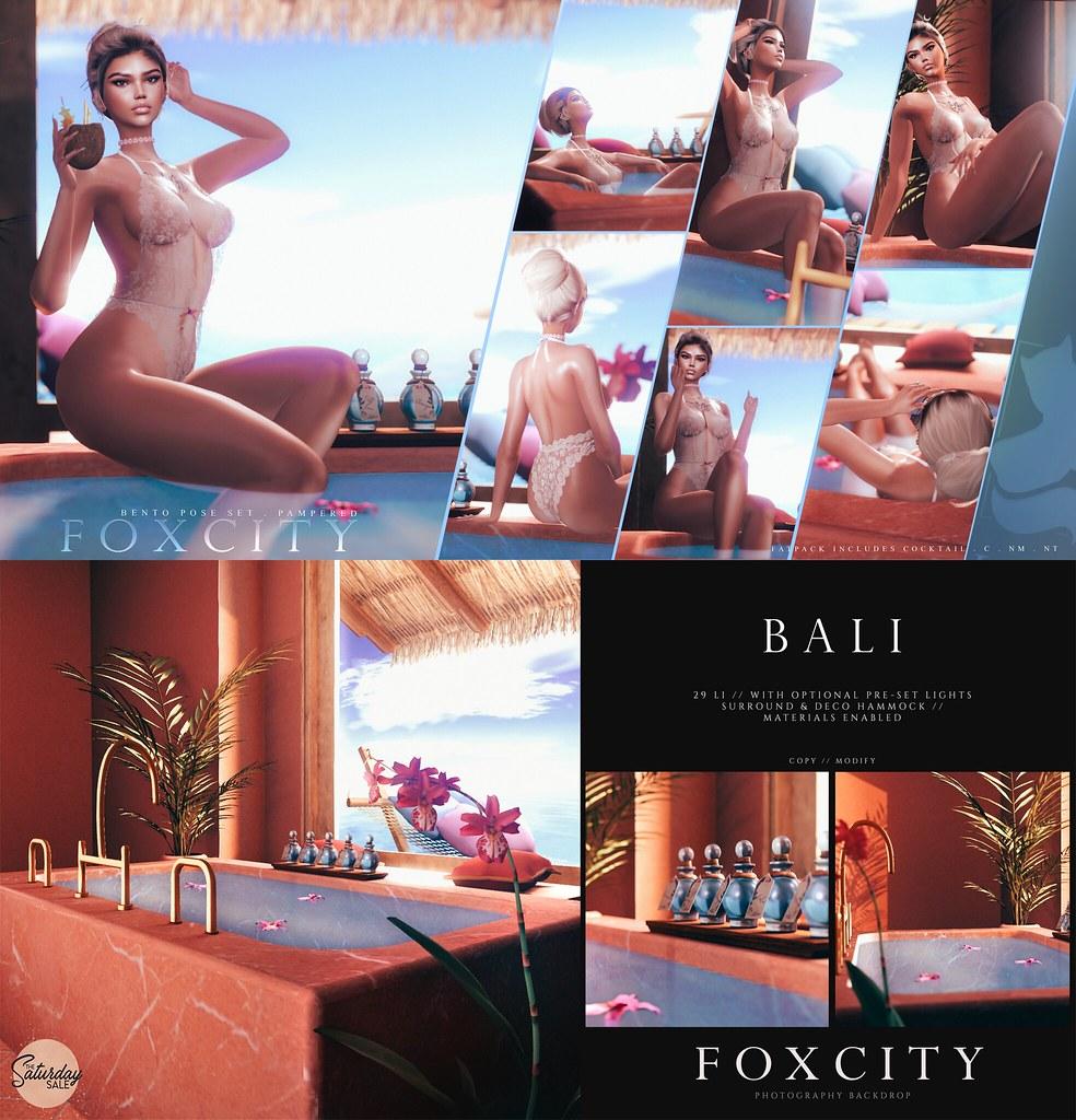 FOXCITY @ The Saturday Sale