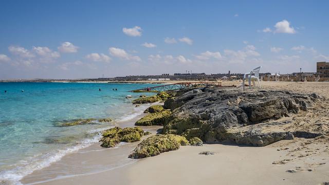 Egypt's Ghazala bay in North Coast