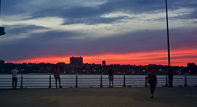Sunset chasers - Chelsea Piers, New York City